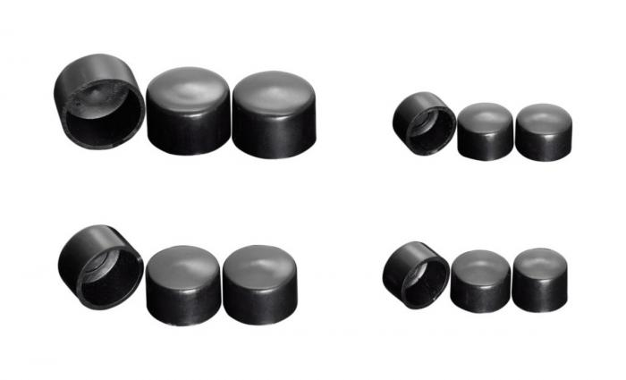 M6 Hexagon bolt cover - Black