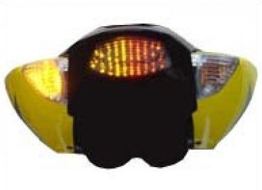 Transparent taillight + indicators with leds