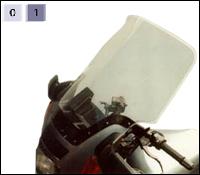 Arizona windscherm - grijs getint