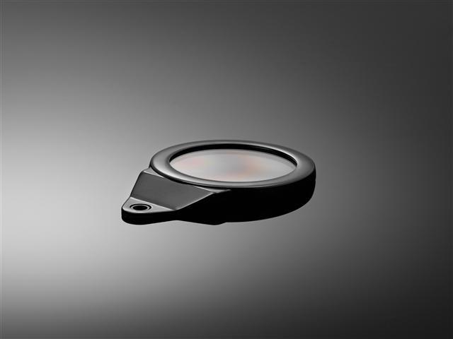Tax Disc holder round - Black