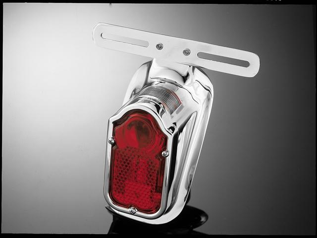 Taillight Tombstone - Chrome