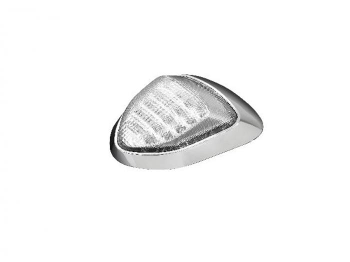Taillight with Turn signals - Chrome