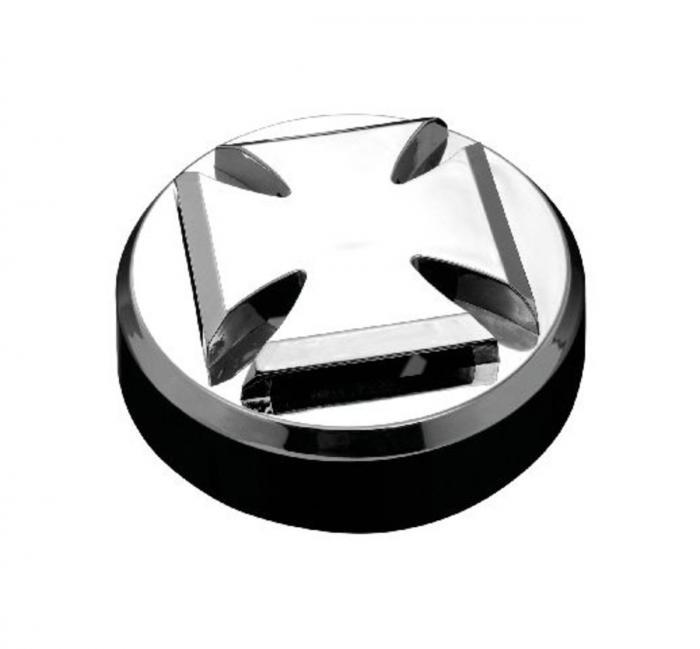 Horn Cover Gothic - Chrome