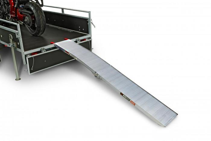 Foldable ramp Model B.1 340 KG