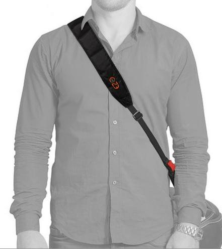 EZ-GO helmet carrying strap