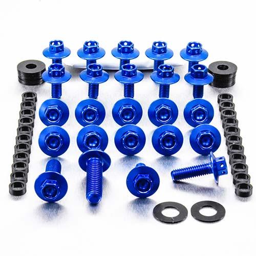 Aluminium Body Panel Kit KX250 F 4 Stroke Race Spec - Blue