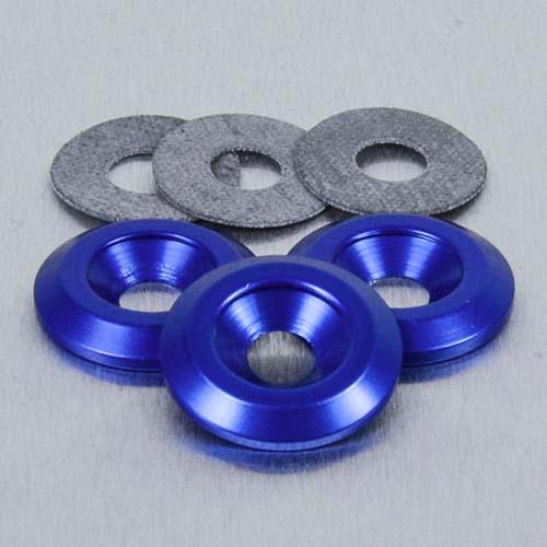 Aluminium Countersunk Washer M8 Silver