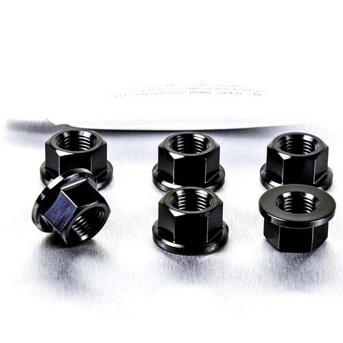 2005-2010 Stainless Steel Sprocket Nut Set for Suzuki GSF 650 Bandit