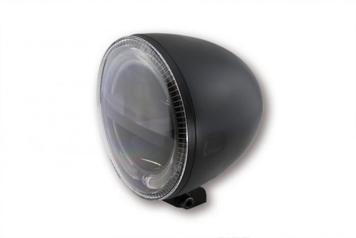 53/4 pouces, feu avant à diodes CIRCLE, noir (223-048)