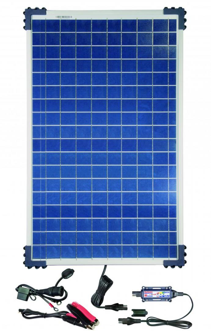 OptiMate Solar - 12V / 7A Max - With 40W Solar Panel