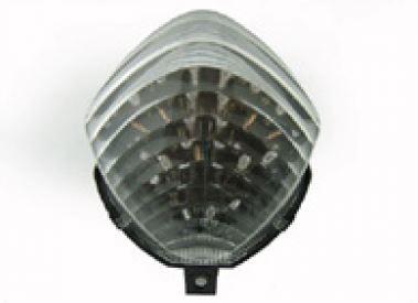 Feu arrière à diodes transparent + clignotants à diodes