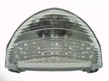 Transparant led achterlicht + knipperlichten met leds