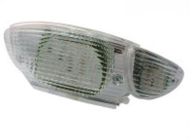 Transparent led taillight + indicators with leds