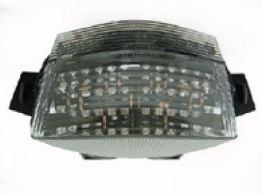 Transparent led taillight + indicators with leds