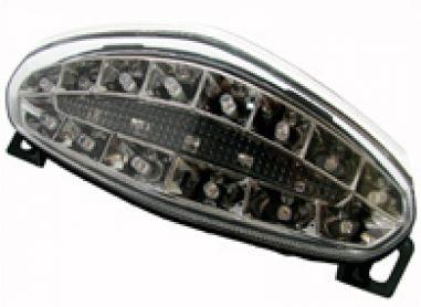 Feu arrière à diodes transparent