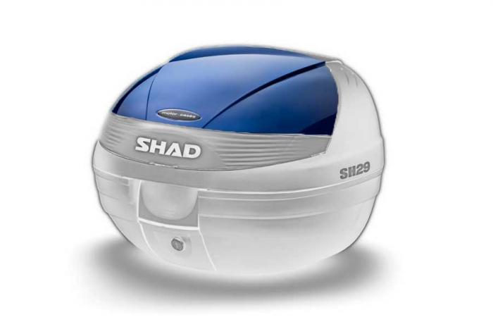 Couvercle coffre SH29 - Bleu