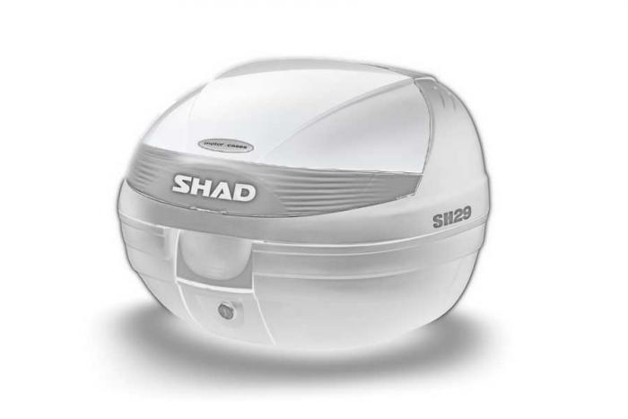Couvercle coffre SH29 - Blanc