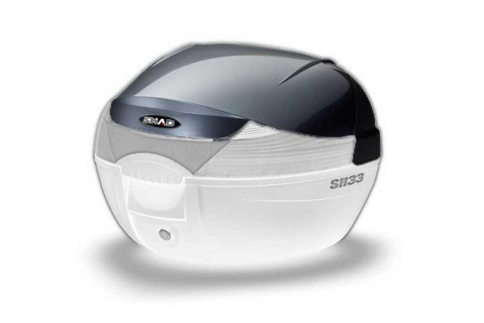 Couvercle coffre SH33 - Look titane