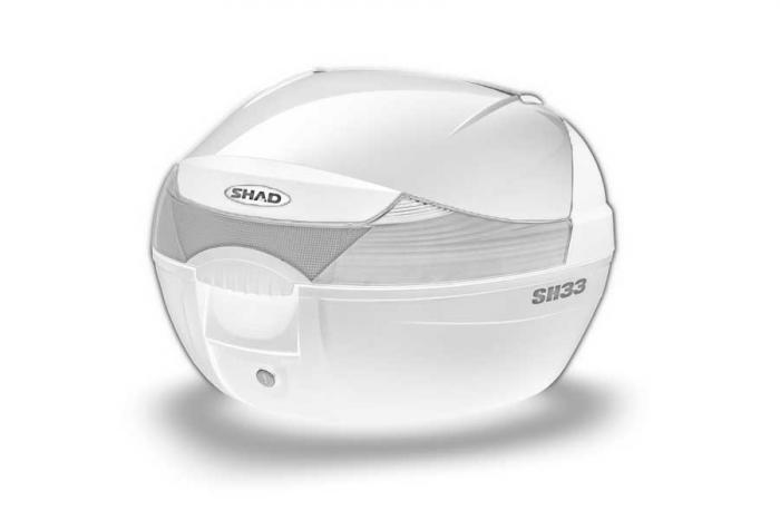 Couvercle coffre SH33 - Blanc