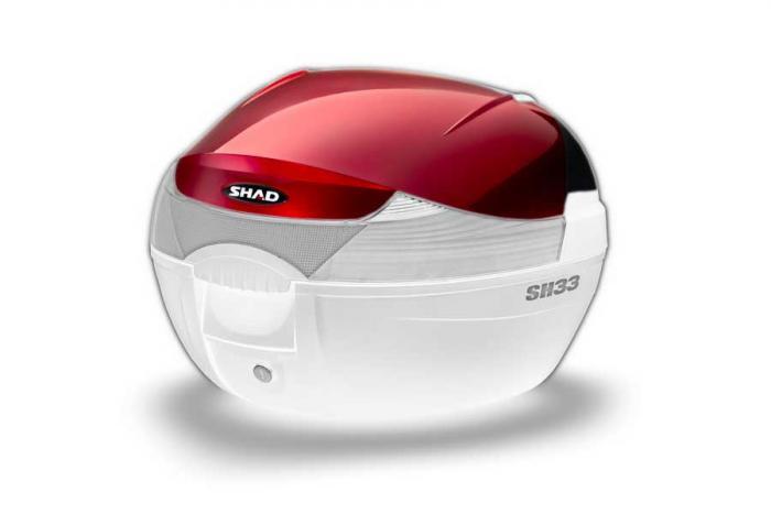 Couvercle coffre SH33 - Rouge