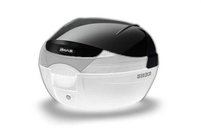 Couvercle coffre SH33 - Noir metal