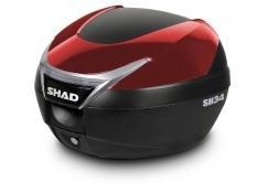 Couvercle coffre SH34 - Rouge