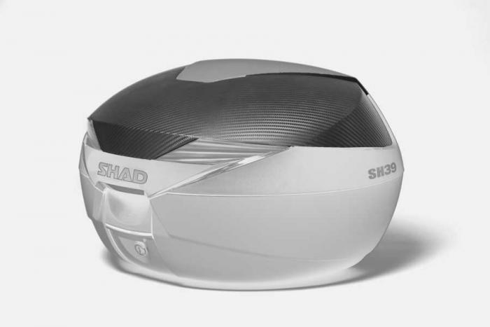 Couvercle coffre SH39 - Look carbone