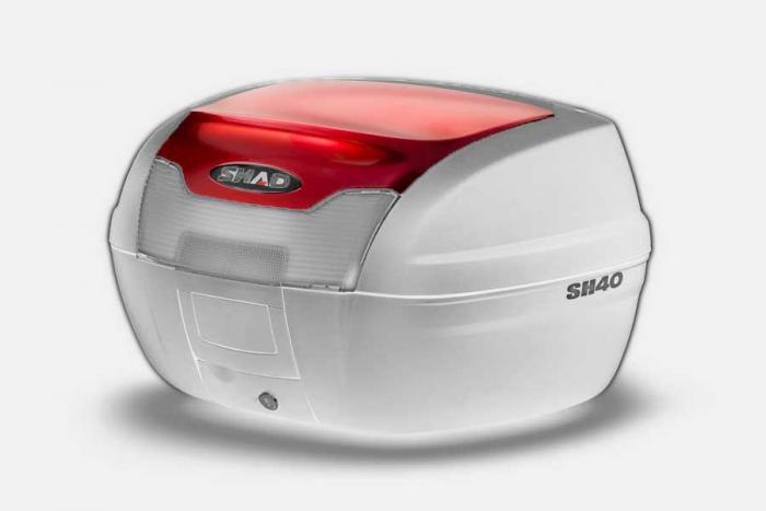 Couvercle coffre SH40 - Rouge