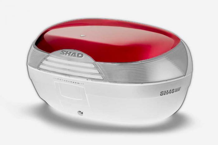 Couvercle coffre SH46 - Rouge