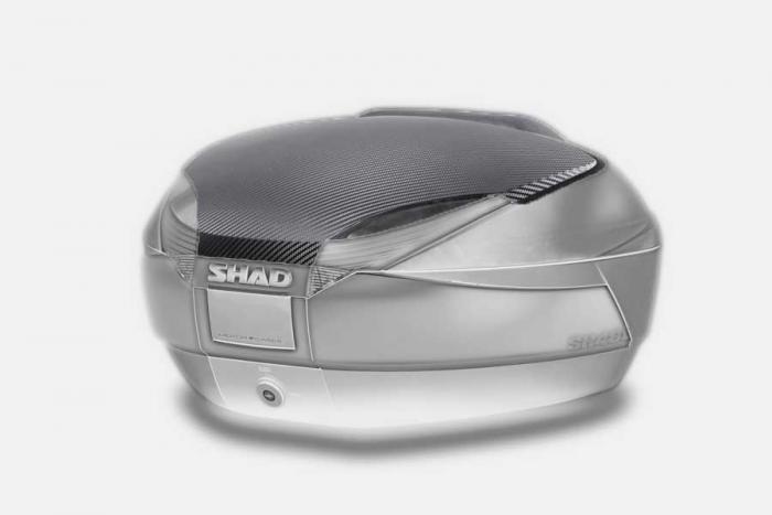 Couvercle coffre SH48 - Look carbone
