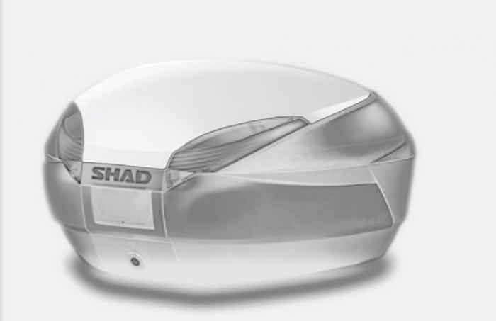 Couvercle coffre SH48 - Blanc