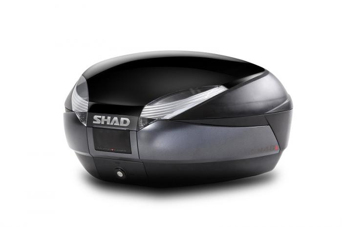 Couvercle coffre SH48 - Noir metal