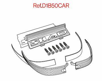 Réflecteur rouge