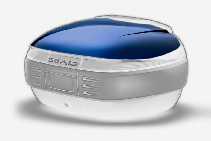 Couvercle coffre SH50 - Bleu