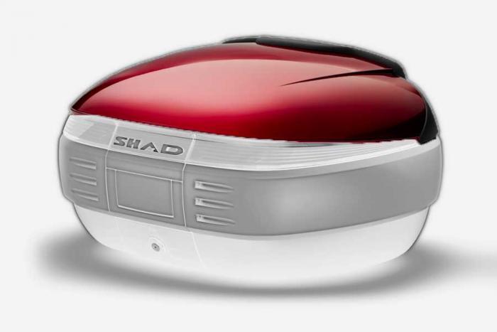 Couvercle coffre SH50 - Rouge