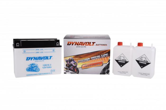 Batterie 12N18-3 / 12N18-3 (DIN 51813 / 12N183 / DA12N183)