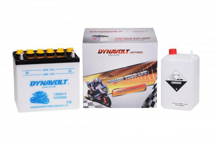 Batterie 12N24-4 / 12N24-4 (DIN 52420 / 12N244 / DA12N244)