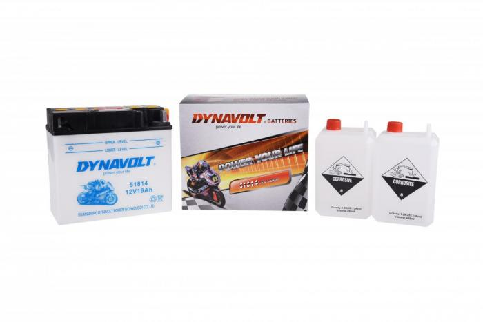 Batterie 12Y16A-3B  / 12N16-A / 12Y16A-3B (DIN 51814 / 12Y16A3B / DA51814)