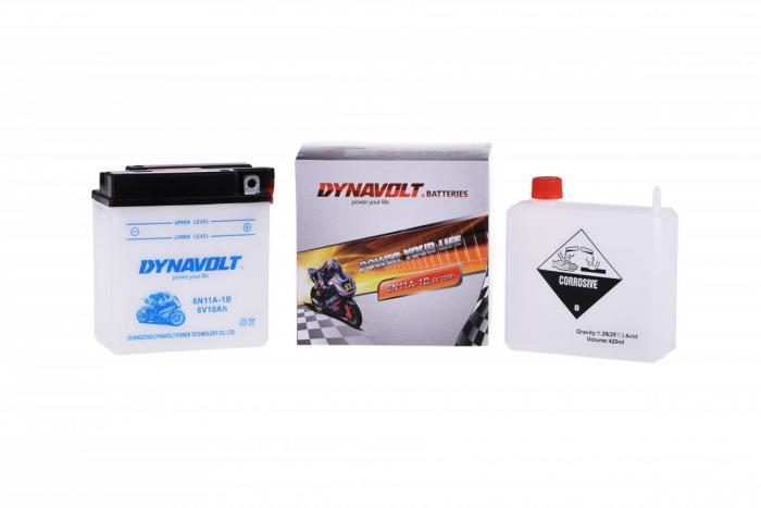 Batterie 6N11A-1B / 6N11A-1B (DIN 01199 / 6N11A1B / DA6N11A1B)