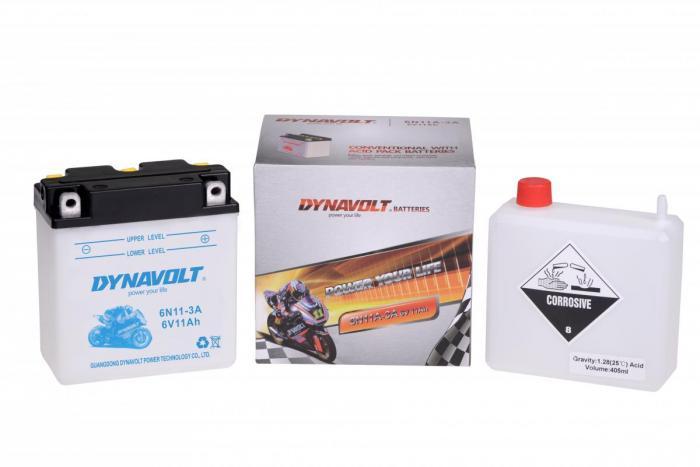 Batterie 6N11A-3A / 6N11A-3A (DIN 01214 / 6N11A3A / DA6N11A3A)