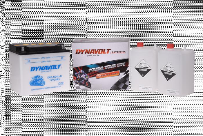 Batterie D60-N24L-B  / Y60-N24L-B / Y60-N24A-LB (DIN 52510 / Y60N24LB / DAD60N24LB)