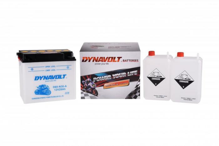 Batterie D60-N30-A  / Y60-N30-A (DIN 53034 / Y60N30A / DAD60N30A)