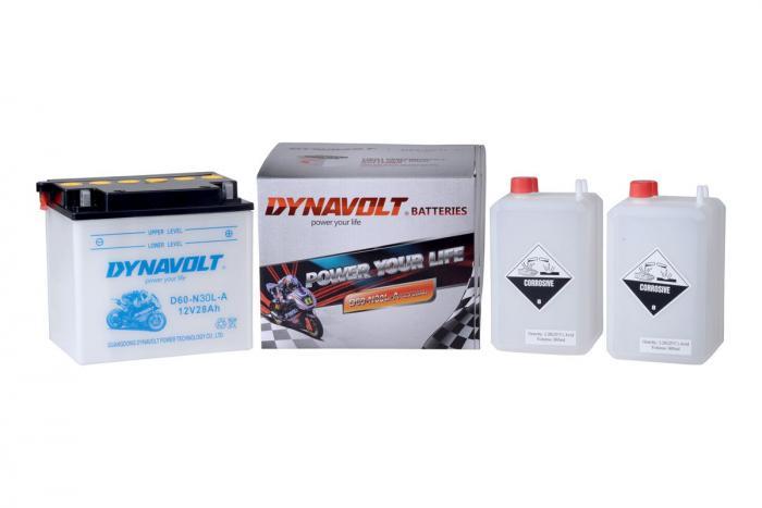 Batterie D60-N30L-A  / Y60-N30L-A (DIN 53030 / Y60N30LA / DAD60N30LA)