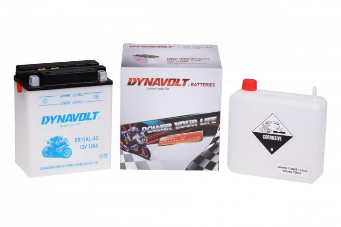 Batterie DB12AL-A2  / YB12AL-A2 (DIN 51213 / YB12ALA2 / DADB12ALA2)
