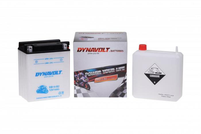 Batterie DB14-B2  / YB14-B2 (DIN 51414 / YB14B2 / DADB14B2)