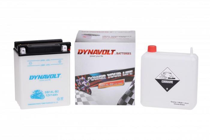 Batterie DB14L-B2  / YB14L-B2 (DIN 51413 / YB14LB2 / DADB14LB2)
