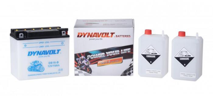 Batterie DB16-B  / YB16-B / YB16B (DIN 51912 / DB16B / DADB16B)