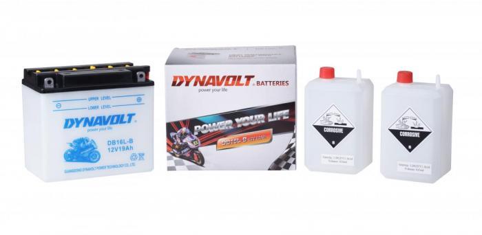 Batterie DB16L-B  / YB16L-B (DIN 51911 / YB16LB / DADB16LB)