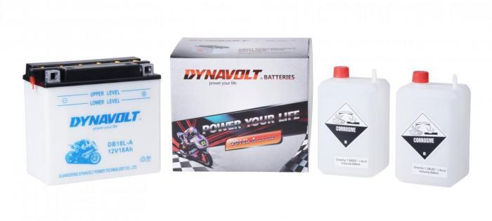 Batterie DB18L-A  / YB18L-A (DIN 51815 / YB18LA / DADB18LA)