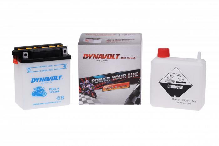 Batterie DB3L-A  / YB3L-A (DIN 50312 / YB3LA / DADB3LA)